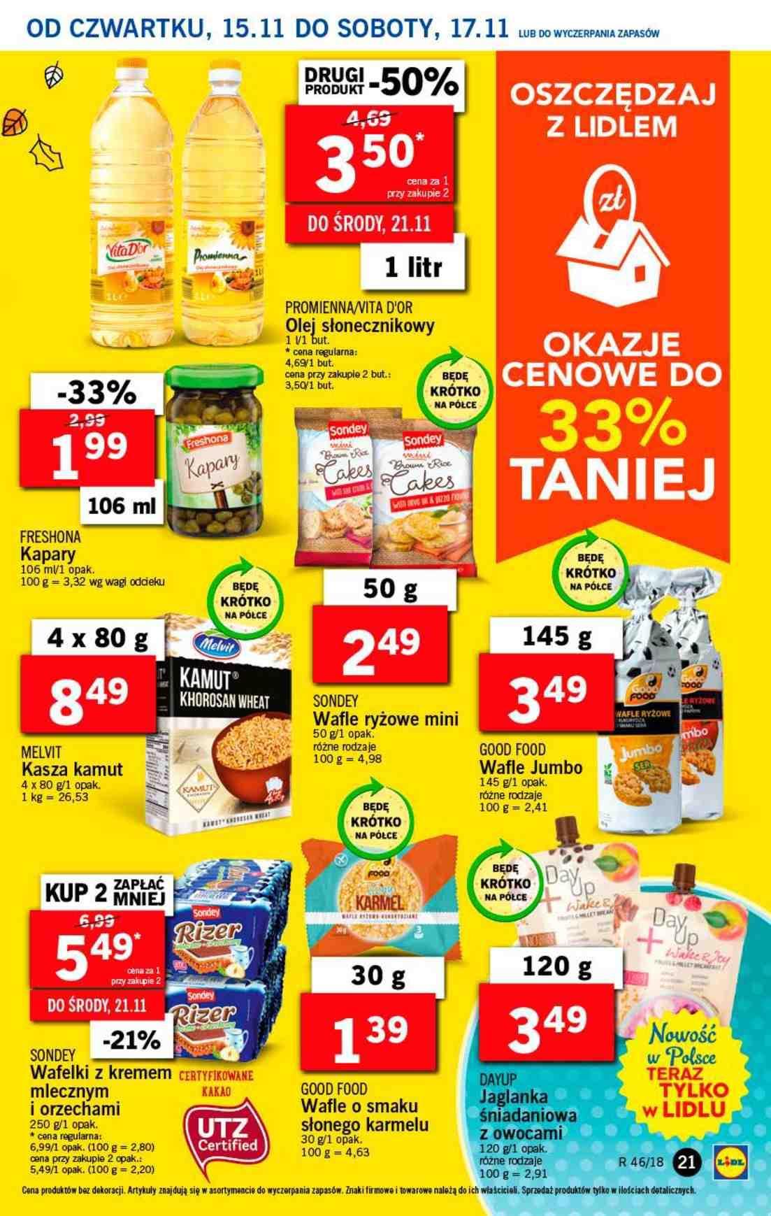 Gazetka promocyjna Lidl do 17/11/2018 str.21
