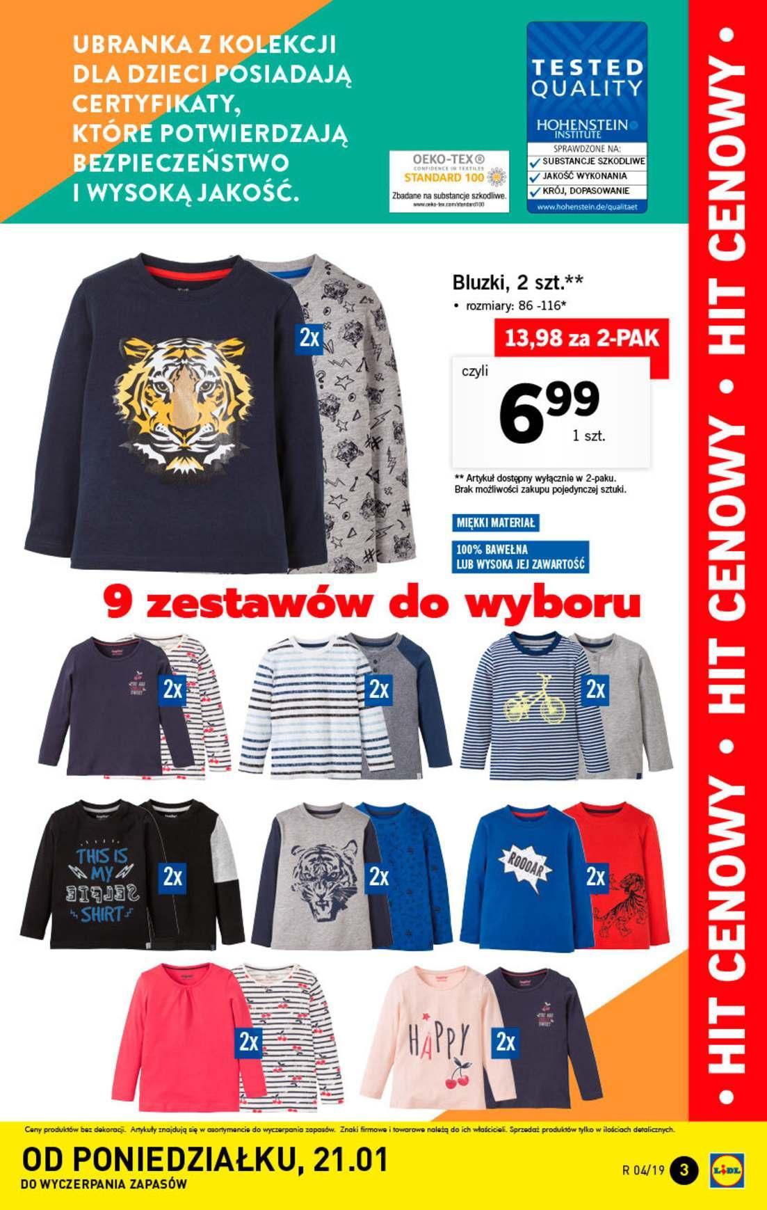 Gazetka promocyjna Lidl do 27/01/2019 str.3