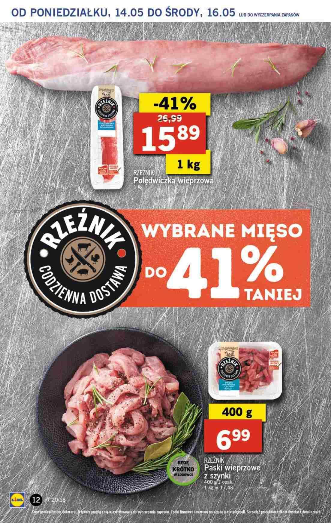 Gazetka promocyjna Lidl do 16/05/2018 str.11