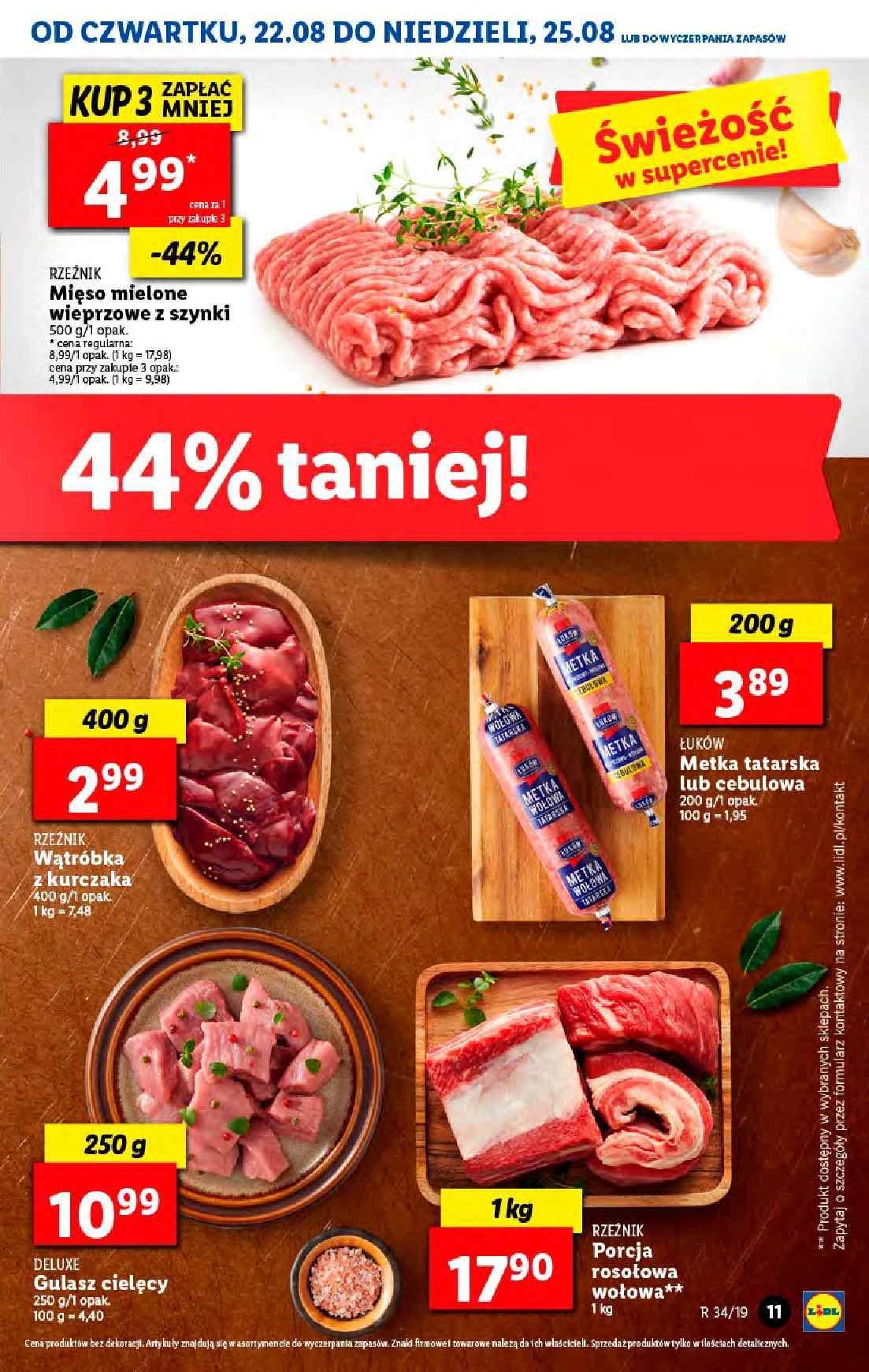 Gazetka promocyjna Lidl do 25/08/2019 str.10