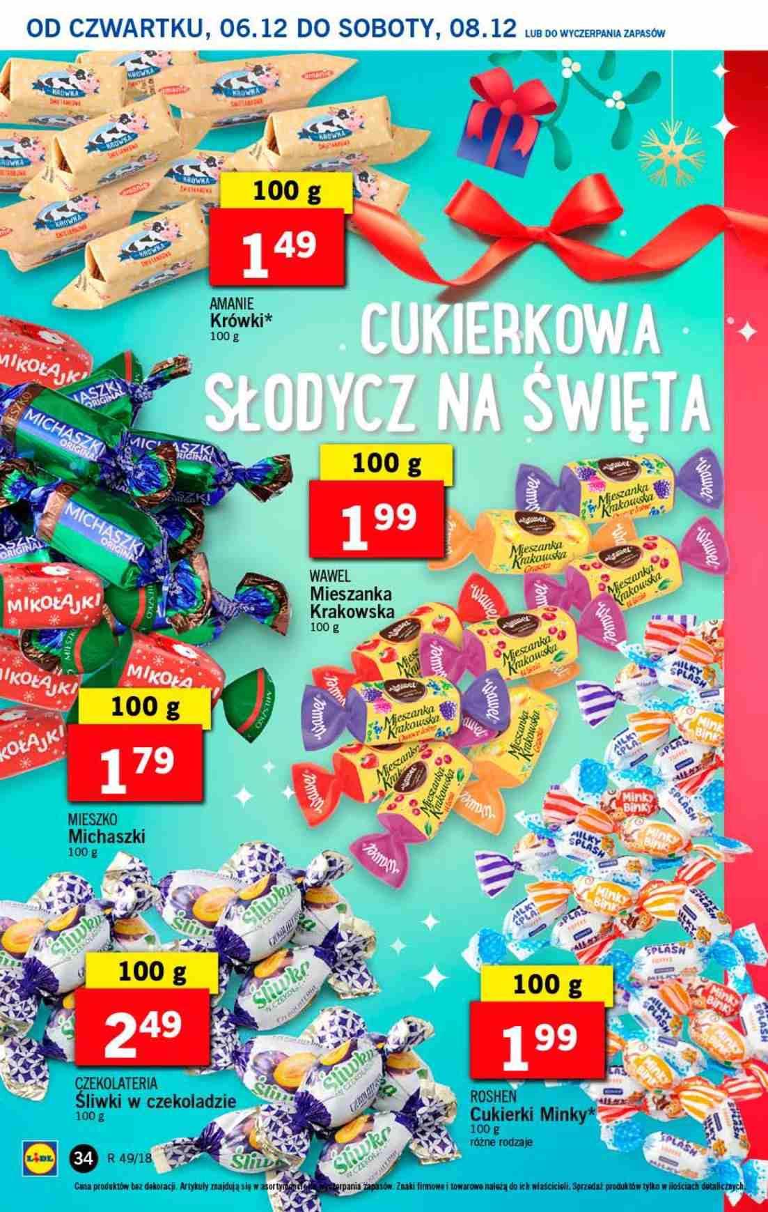 Gazetka promocyjna Lidl do 08/12/2018 str.34