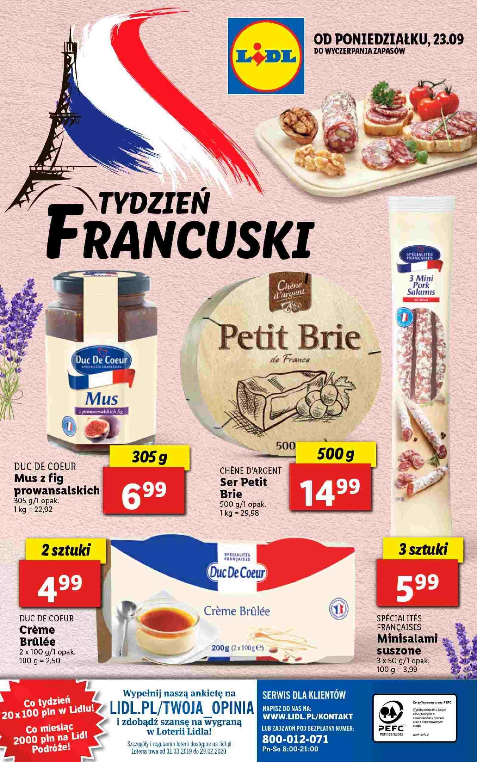 Gazetka promocyjna Lidl do 29/09/2019 str.43