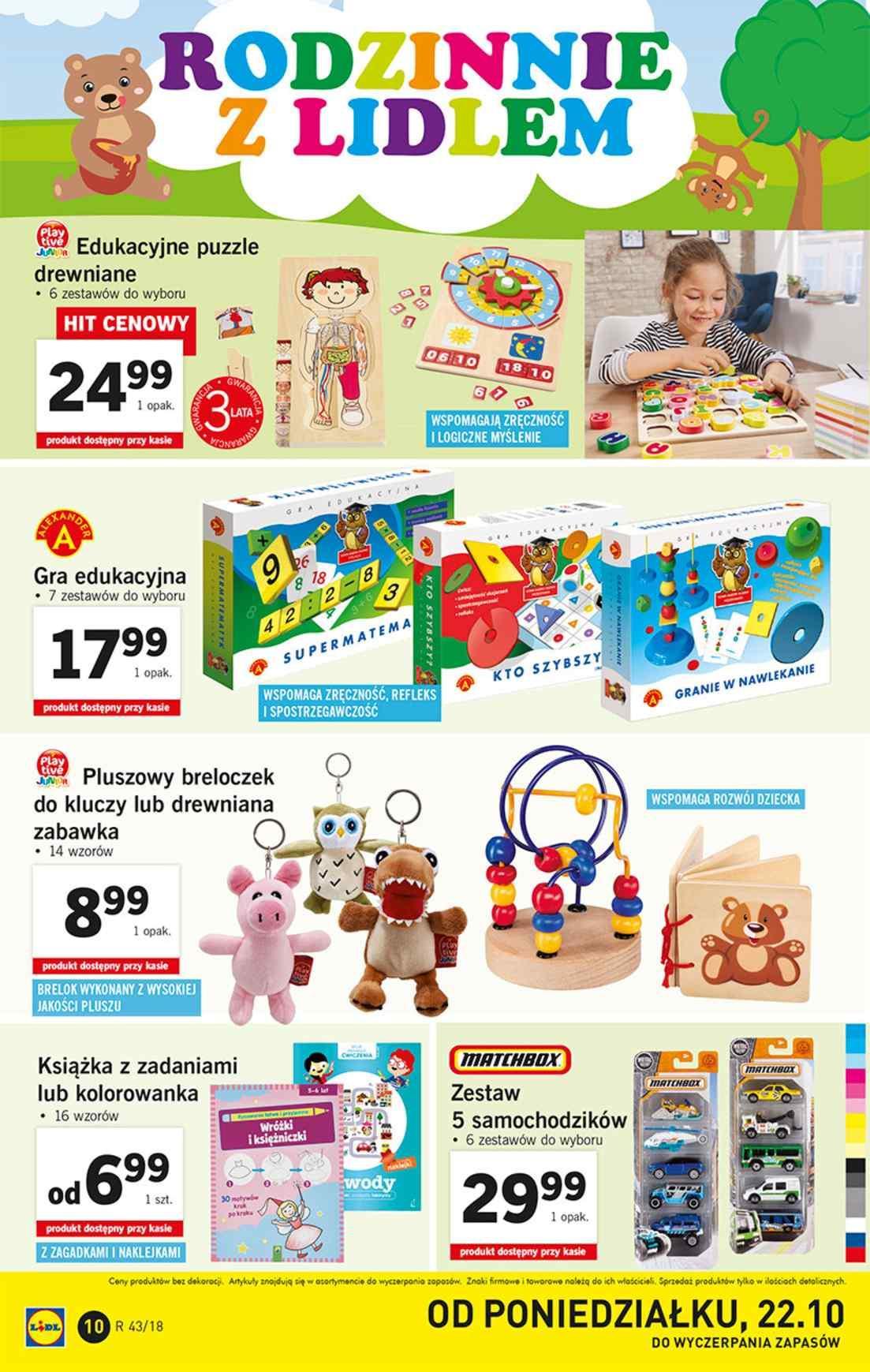 Gazetka promocyjna Lidl do 28/10/2018 str.10