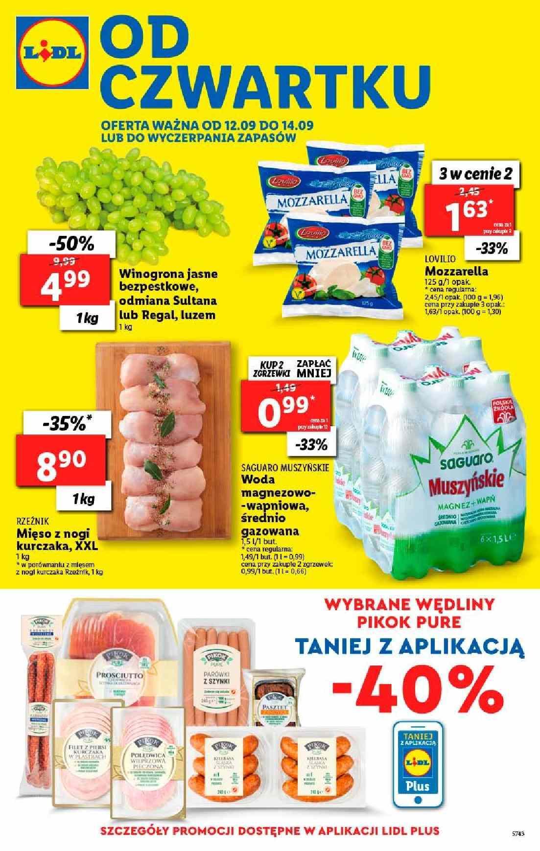Gazetka promocyjna Lidl do 14/09/2019 str.1