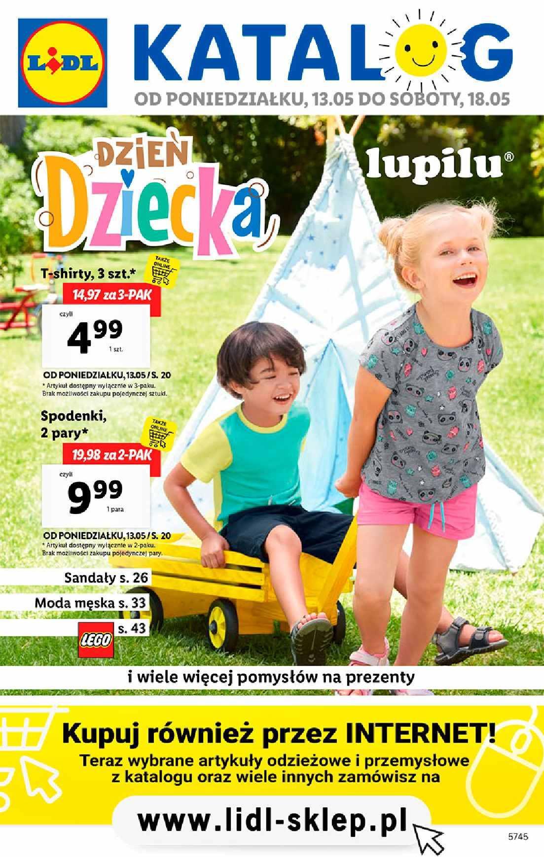 Gazetka promocyjna Lidl do 18/05/2019 str.1