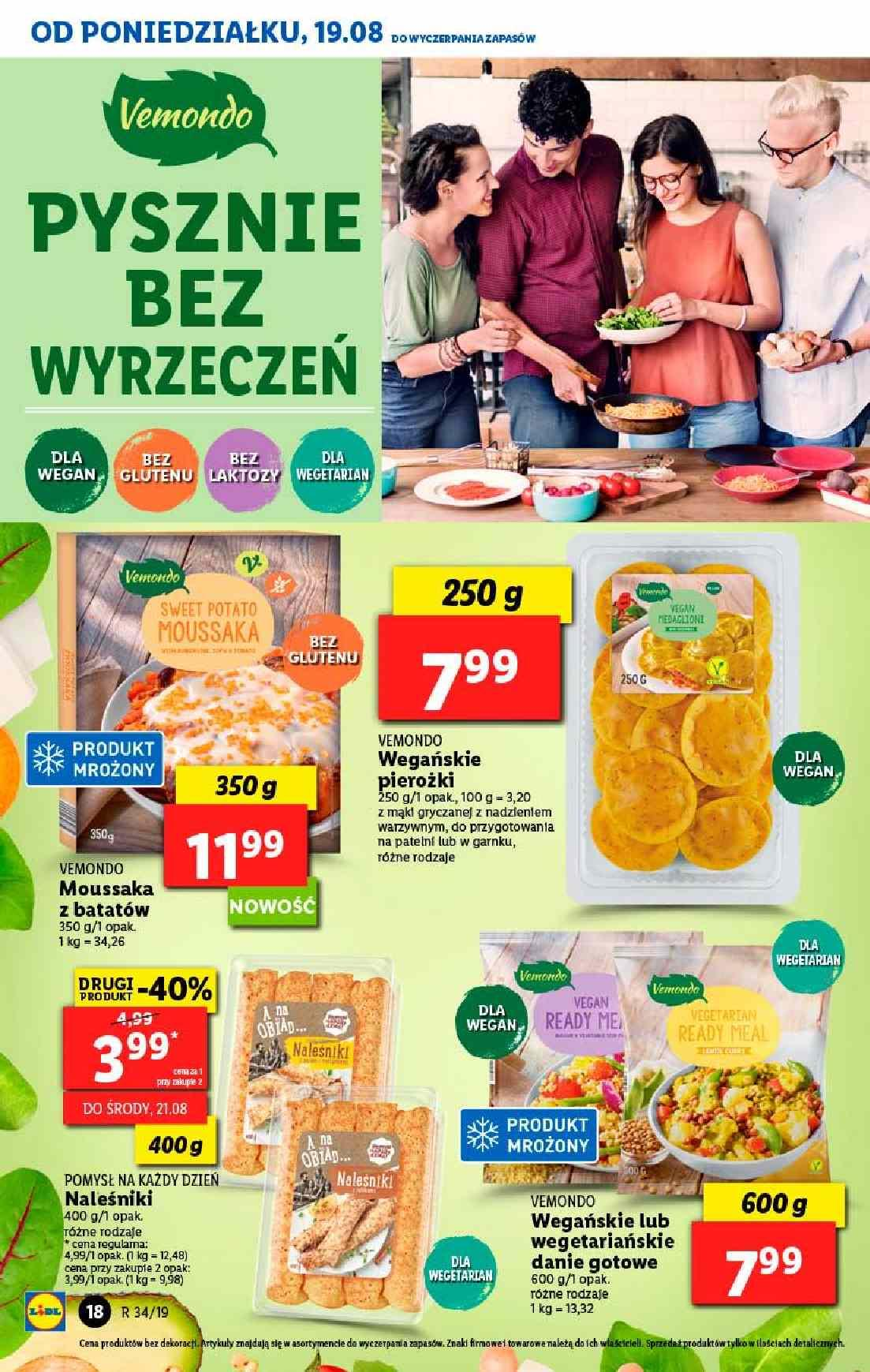 Gazetka promocyjna Lidl do 21/08/2019 str.18