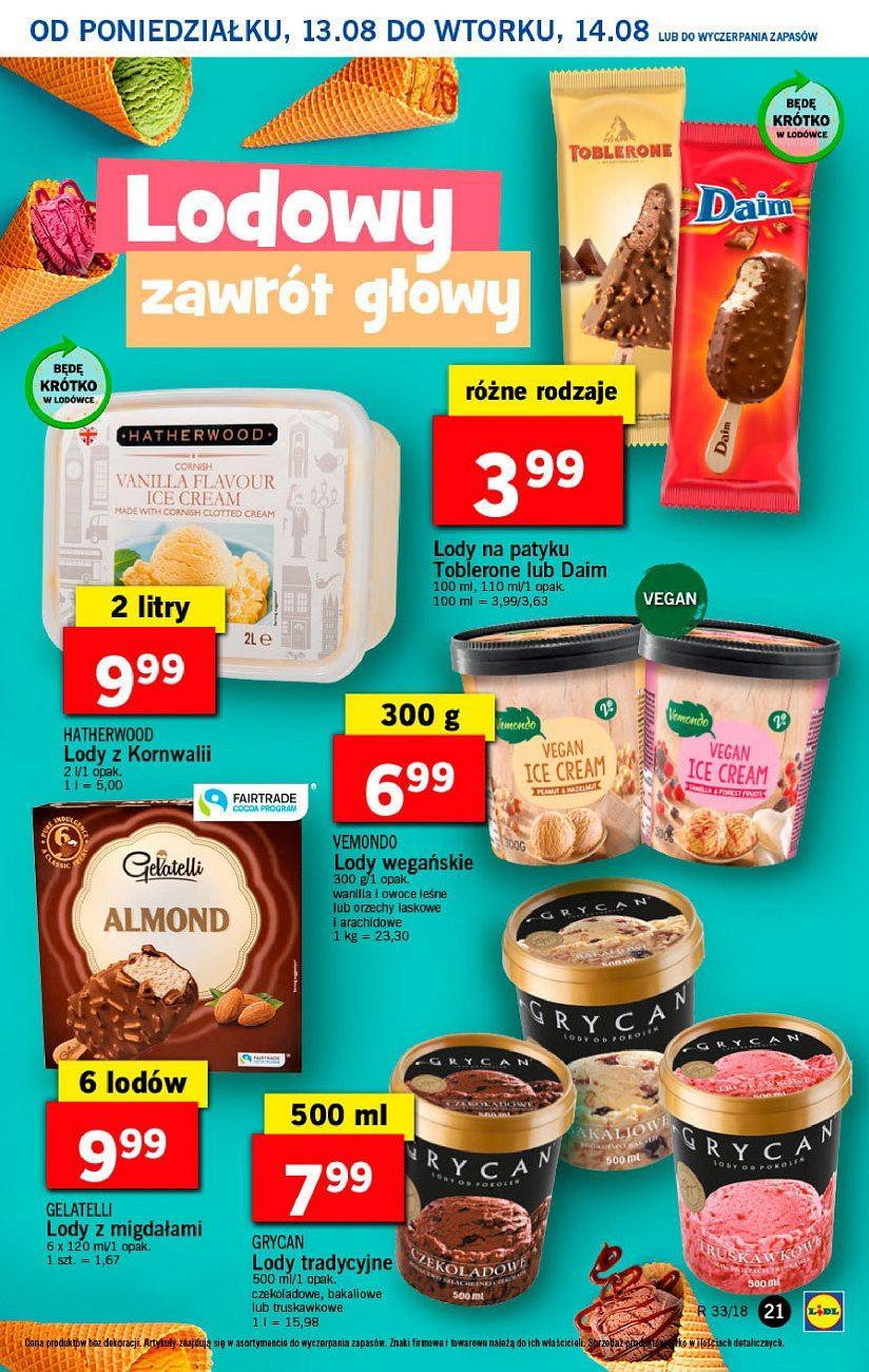 Gazetka promocyjna Lidl do 14/08/2018 str.21