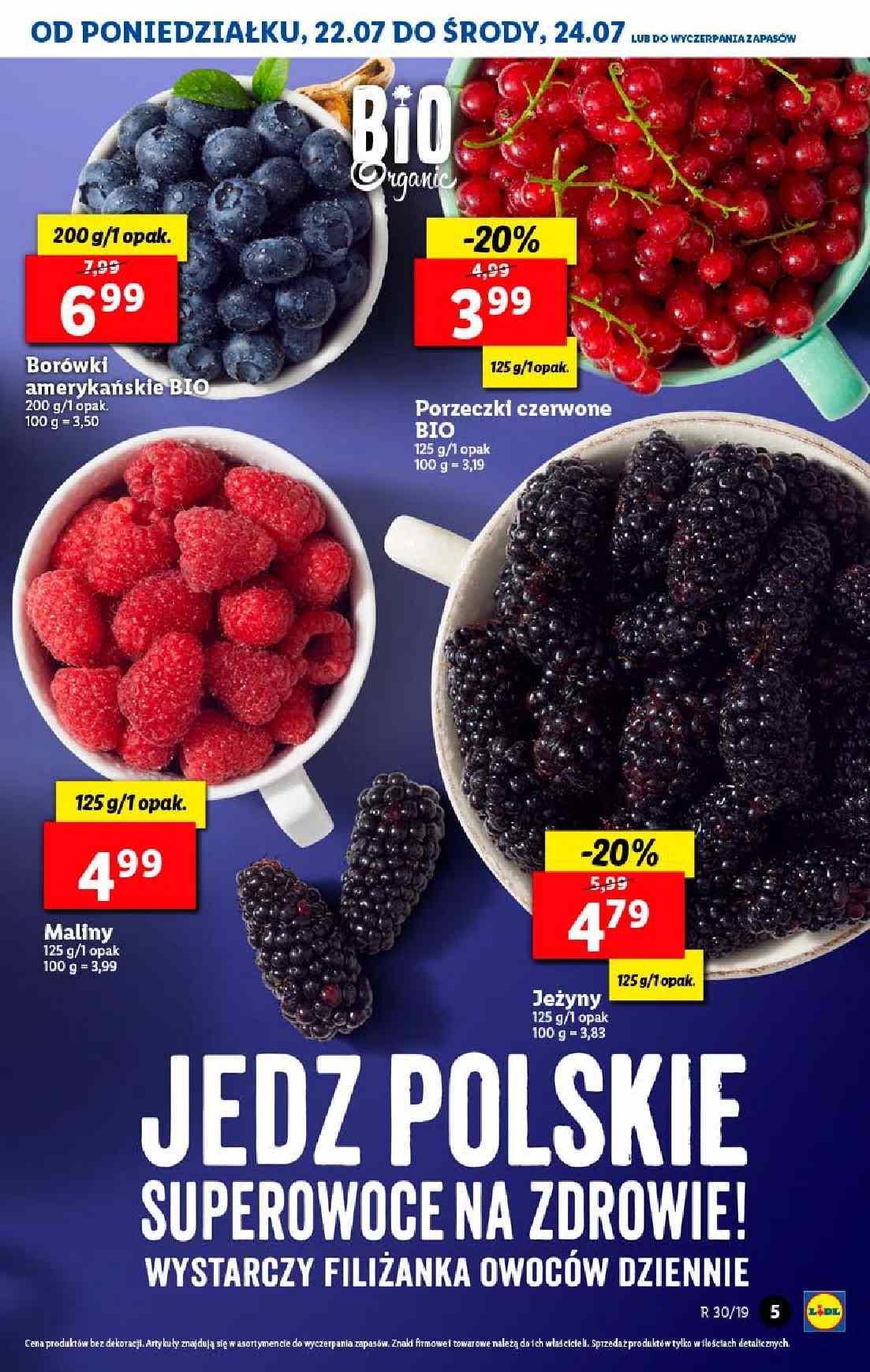 Gazetka promocyjna Lidl do 24/07/2019 str.5