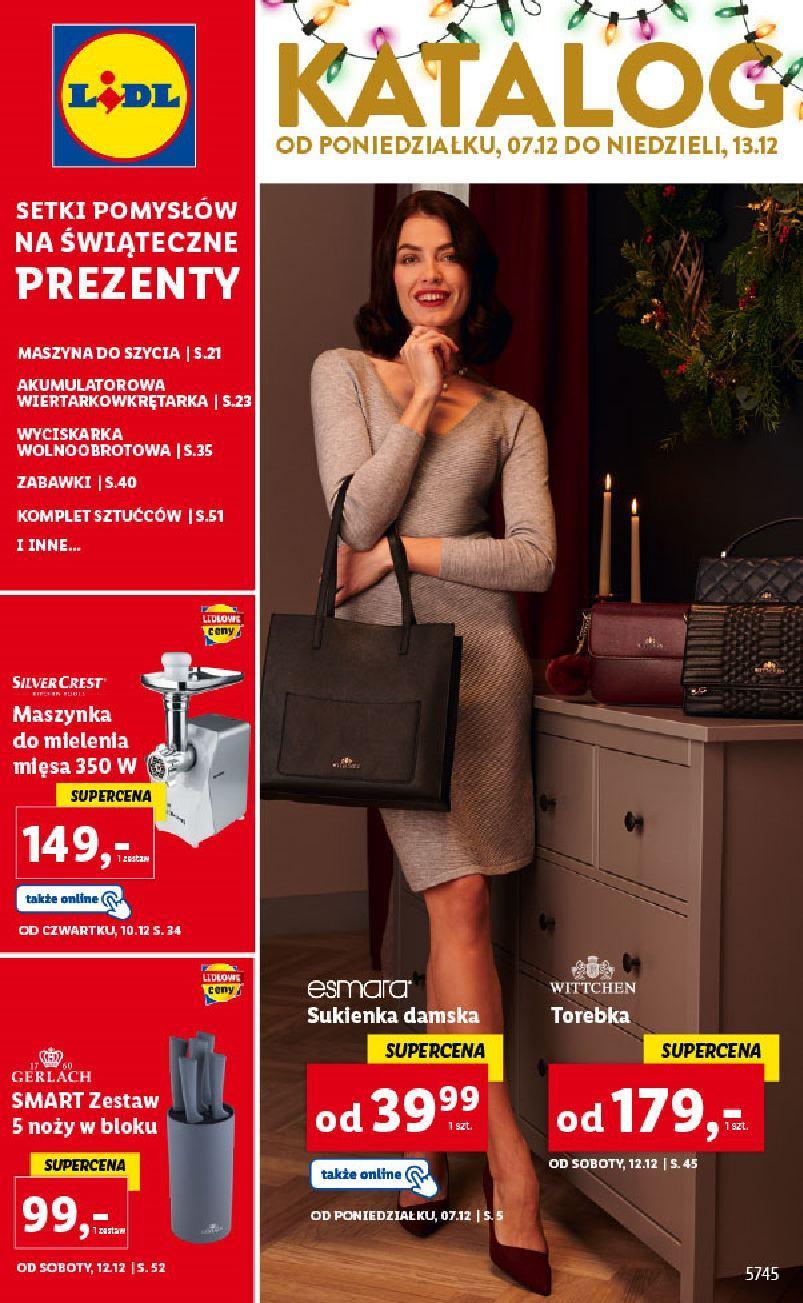 Gazetka promocyjna Lidl do 12/12/2020 str.1