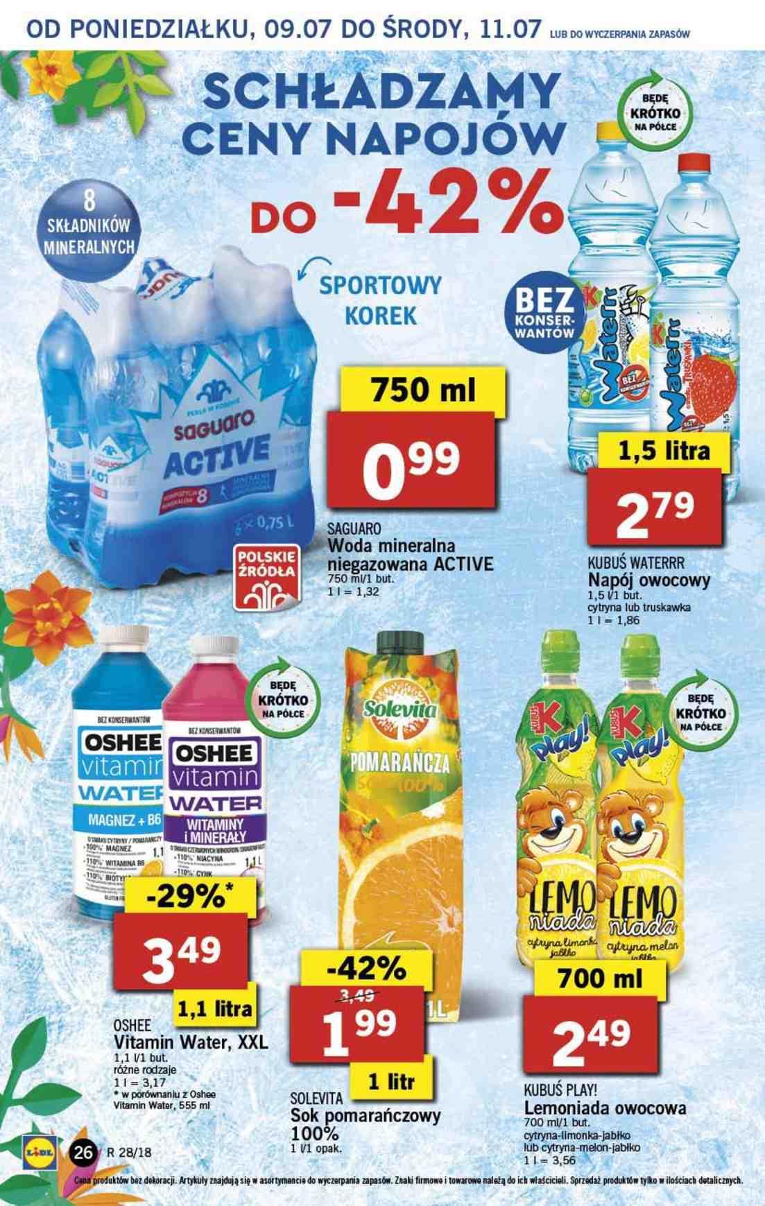 Gazetka promocyjna Lidl do 11/07/2018 str.25