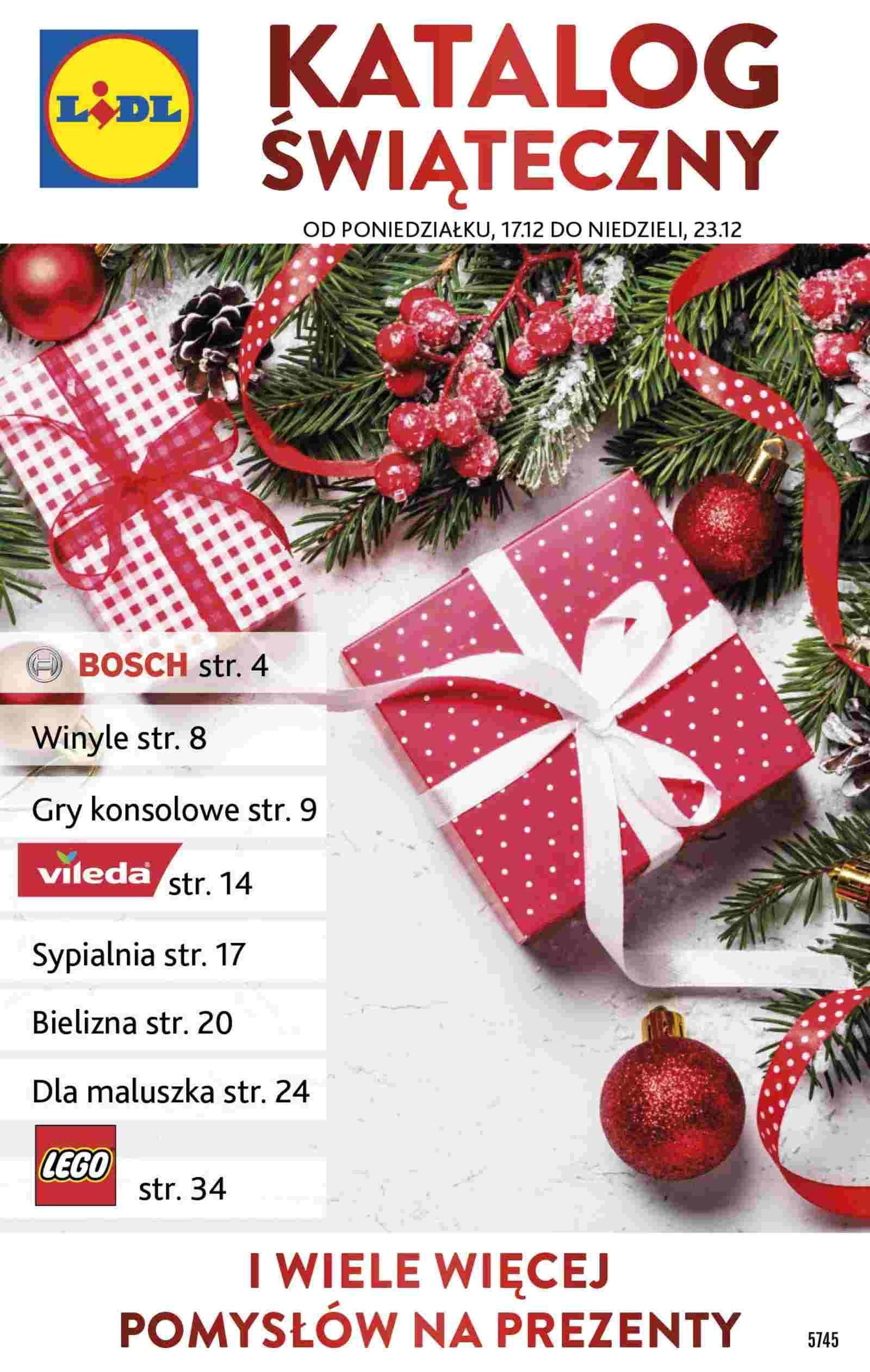 Gazetka promocyjna Lidl do 23/12/2018 str.1