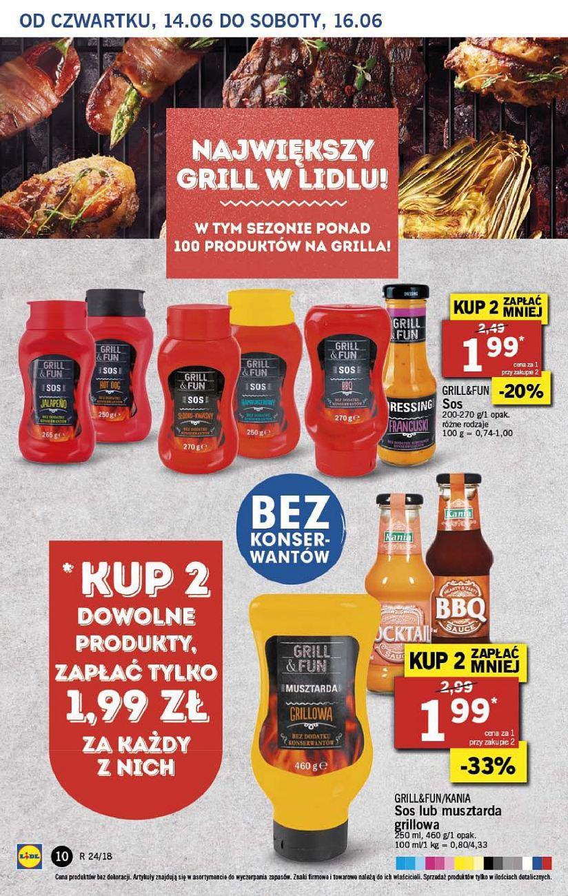 Gazetka promocyjna Lidl do 16/06/2018 str.10