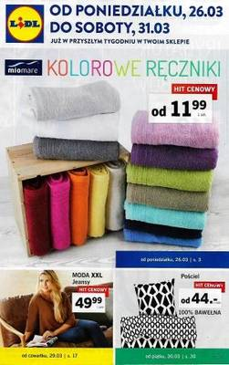 Lidl gazetka - od 26/03/2018 do 31/03/2018