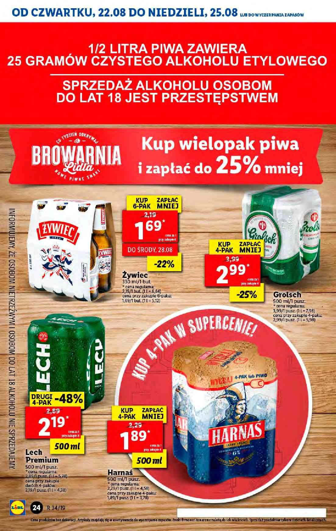 Gazetka promocyjna Lidl do 25/08/2019 str.23