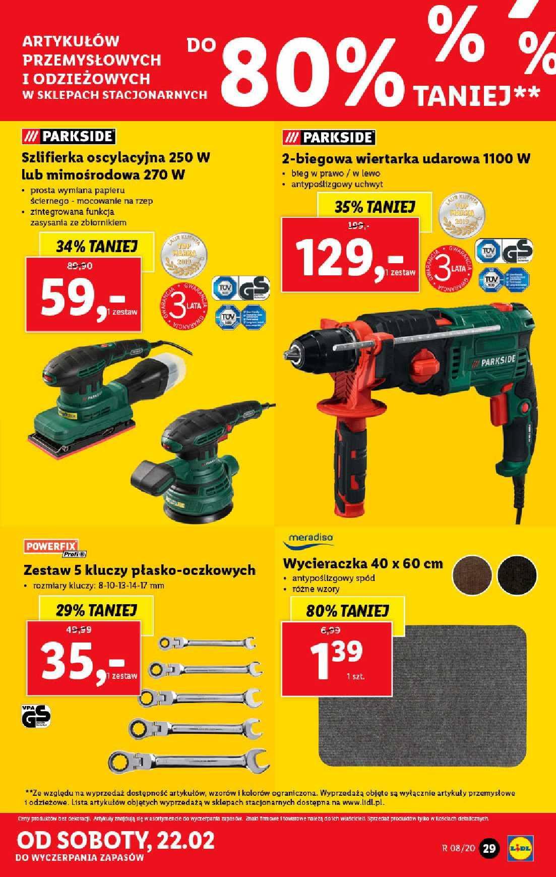 Gazetka promocyjna Lidl do 22/02/2020 str.29