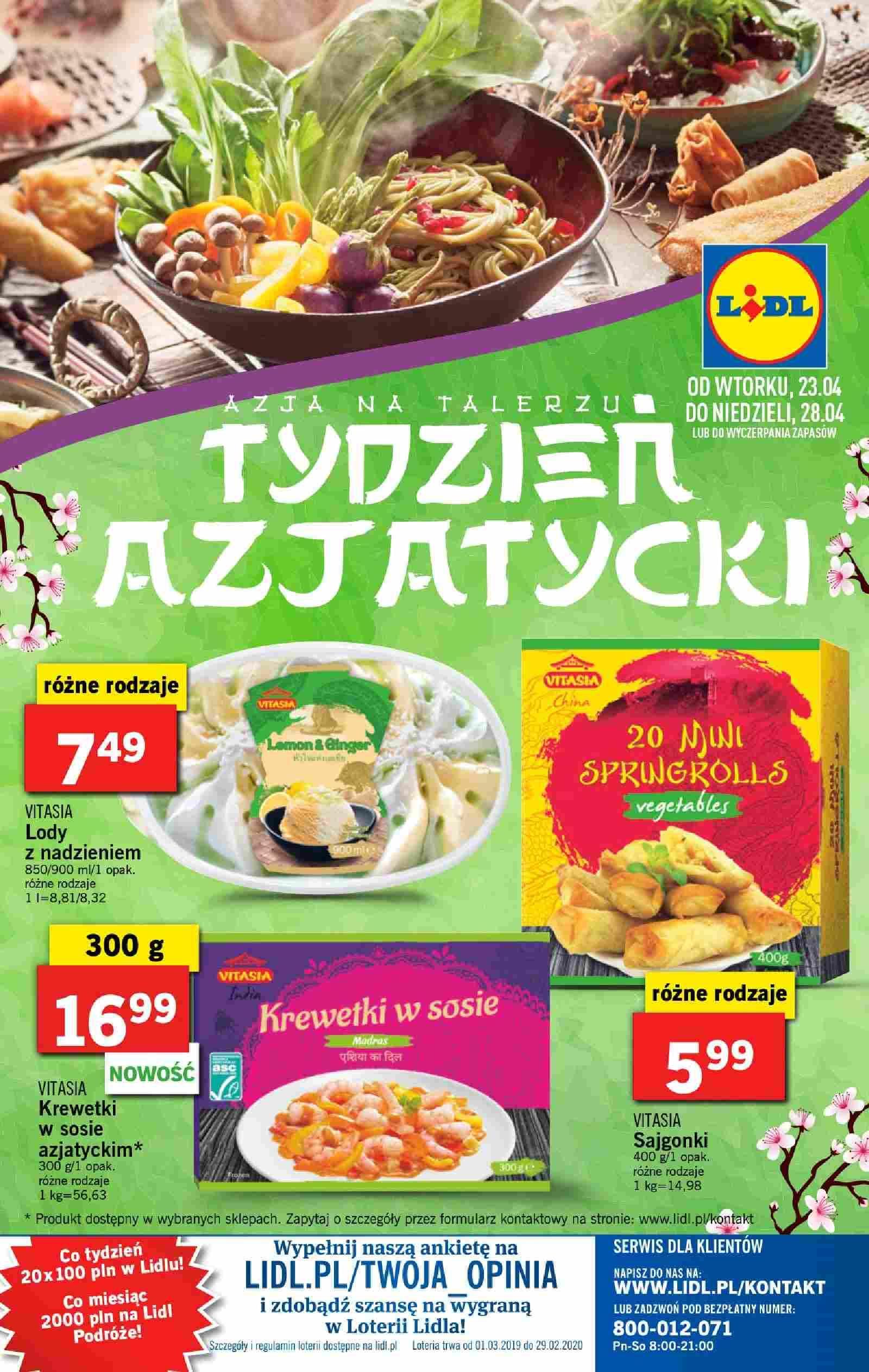 Gazetka promocyjna Lidl do 28/04/2019 str.40