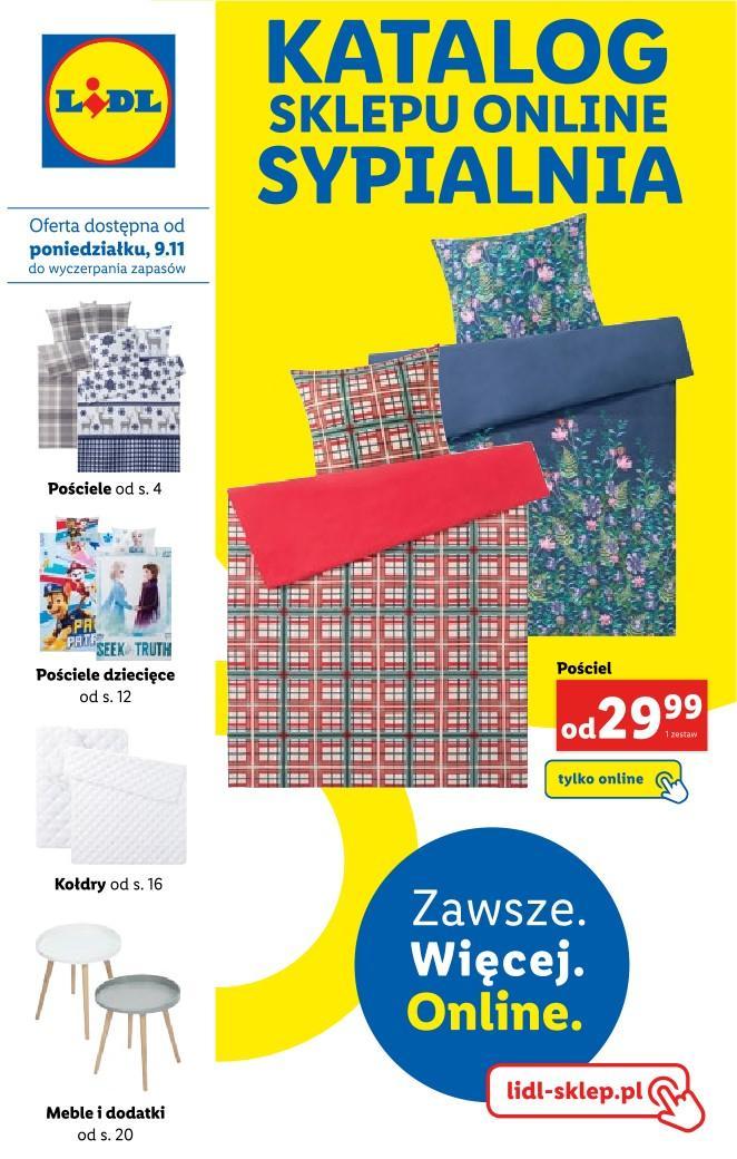 Gazetka promocyjna Lidl do 30/11/2020 str.1