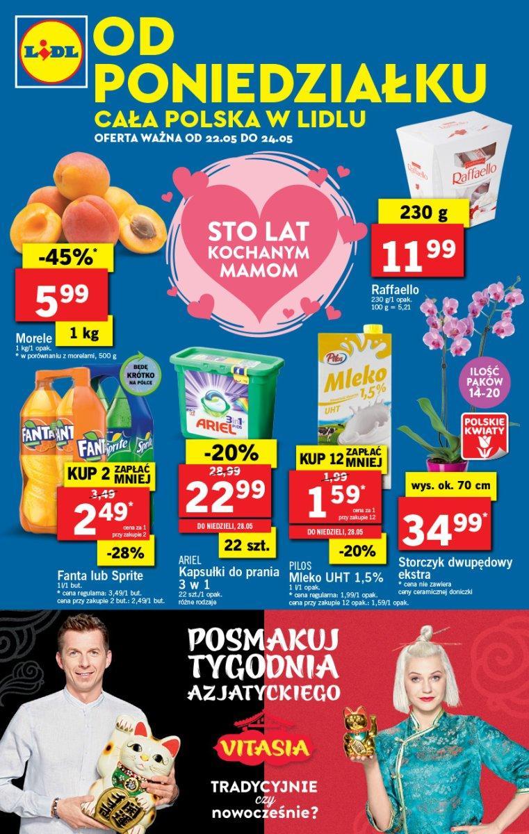 Gazetka promocyjna Lidl do 24/05/2017 str.0