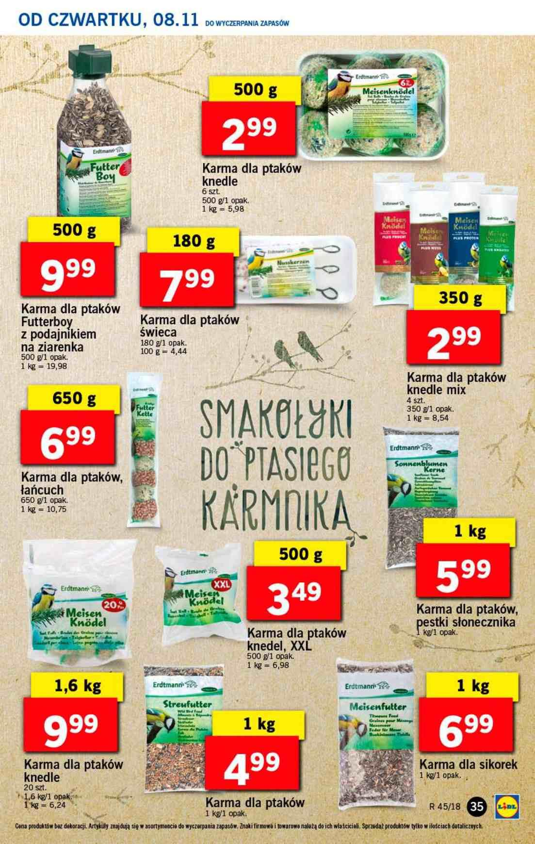 Gazetka promocyjna Lidl do 10/11/2018 str.35