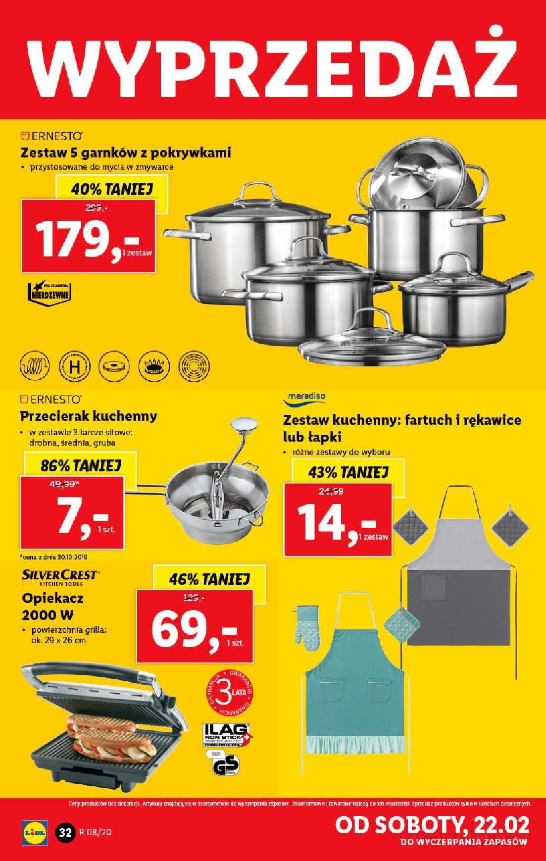Gazetka promocyjna Lidl do 22/02/2020 str.32