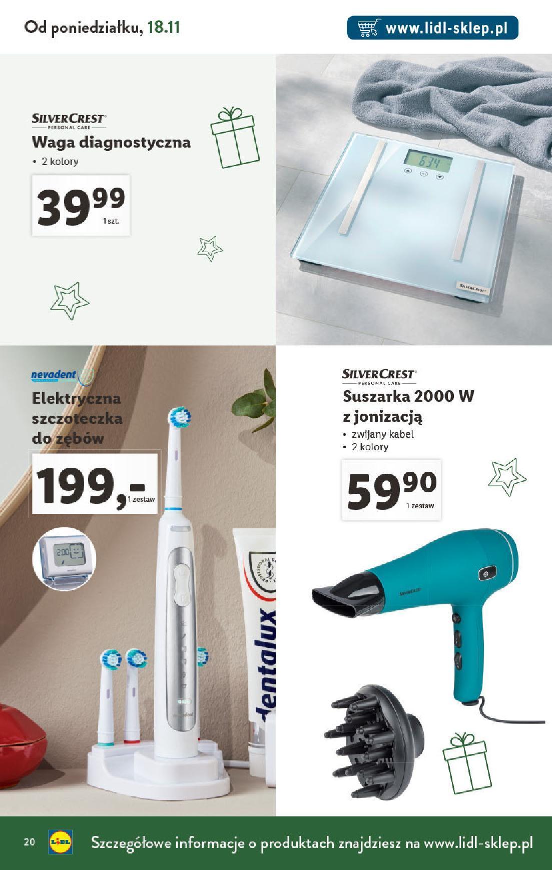 Gazetka promocyjna Lidl do 31/12/2019 str.20