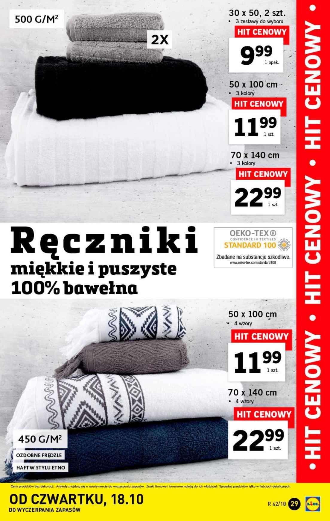 Gazetka promocyjna Lidl do 20/10/2018 str.29