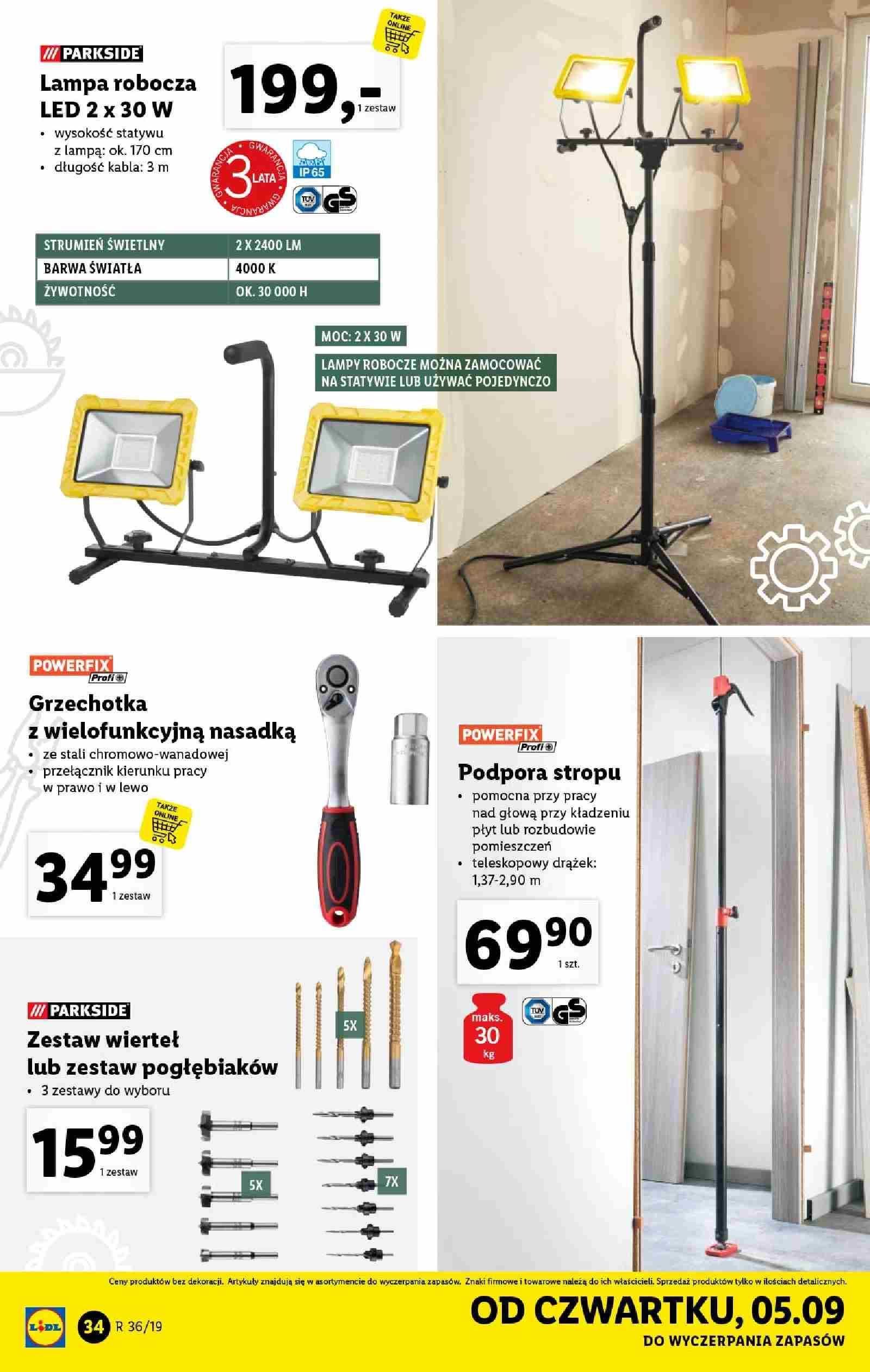 Gazetka promocyjna Lidl do 07/09/2019 str.33