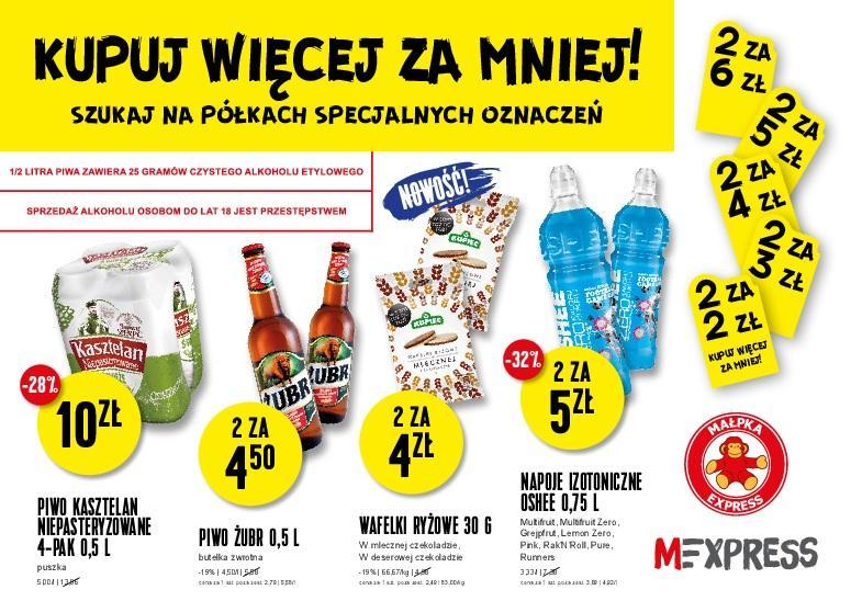 Gazetka promocyjna Małpka Express do 11/10/2016 str.1