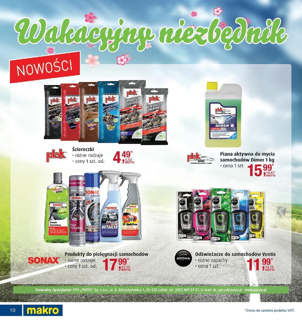 Gazetka promocyjna MAKRO do 16/07/2018 str.10