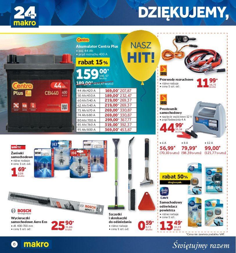 Gazetka promocyjna MAKRO do 22/10/2018 str.6