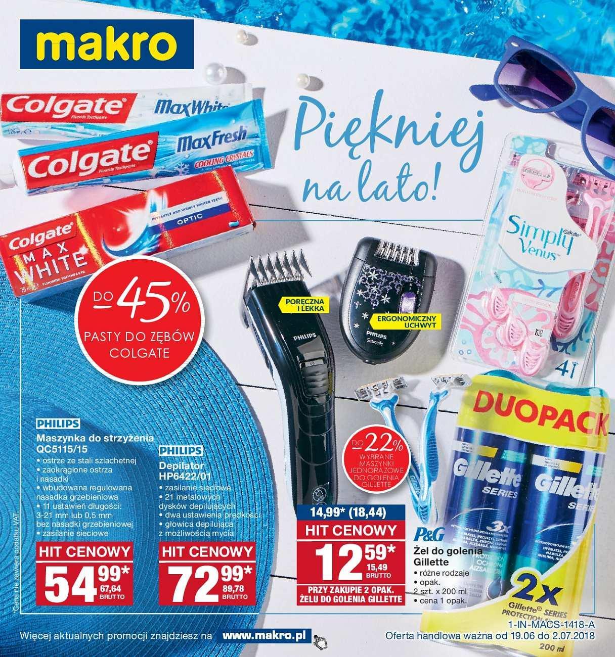 Gazetka promocyjna MAKRO do 02/07/2018 str.0