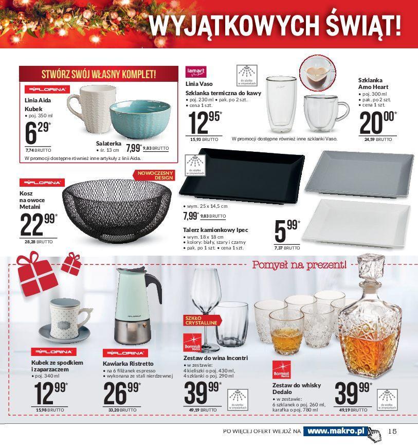 Gazetka promocyjna MAKRO do 24/12/2018 str.15