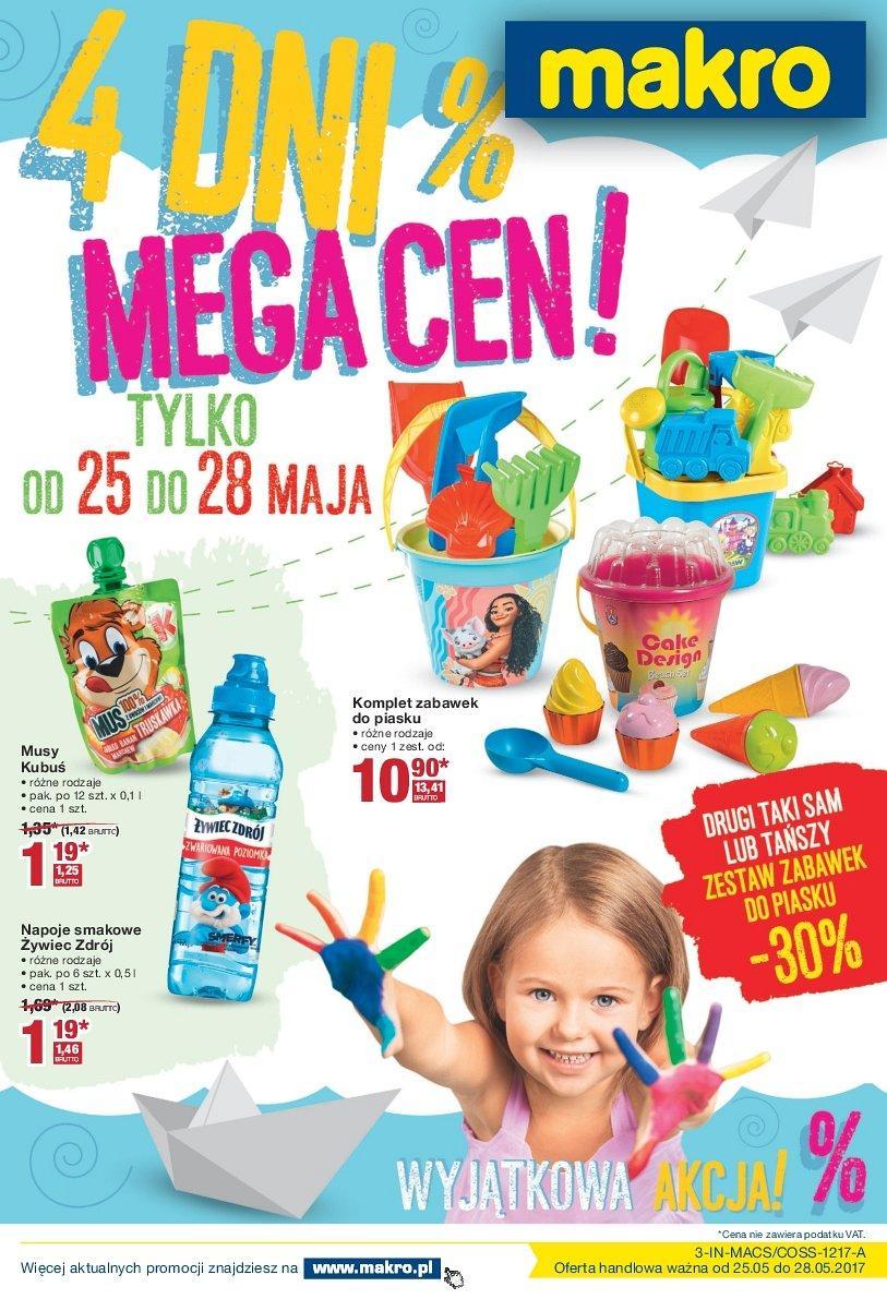 Gazetka promocyjna MAKRO do 28/05/2017 str.0