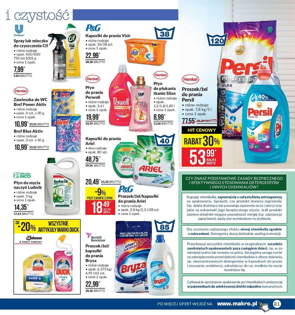 Gazetka promocyjna MAKRO do 02/07/2018 str.21
