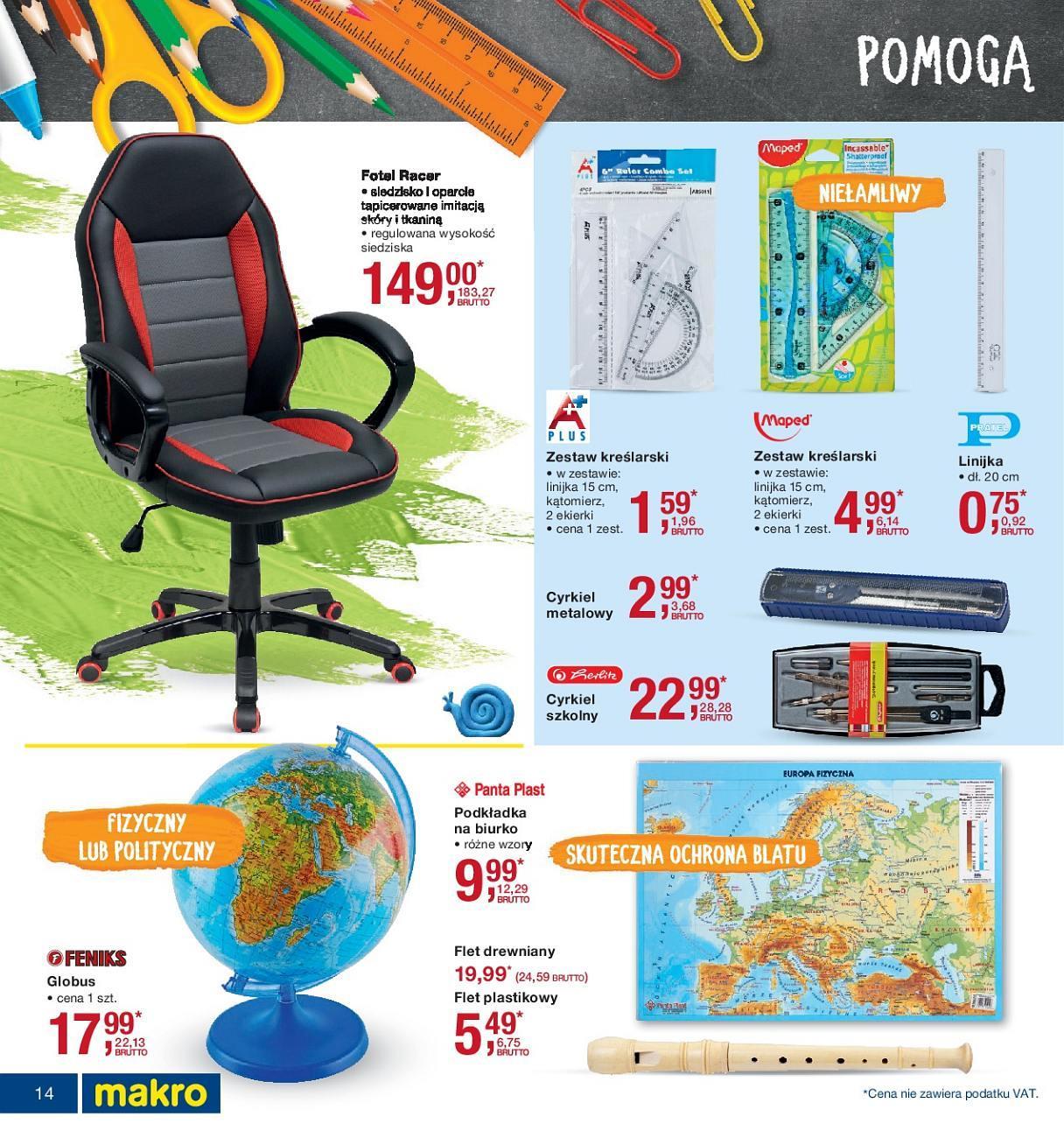 Gazetka promocyjna MAKRO do 13/08/2018 str.14