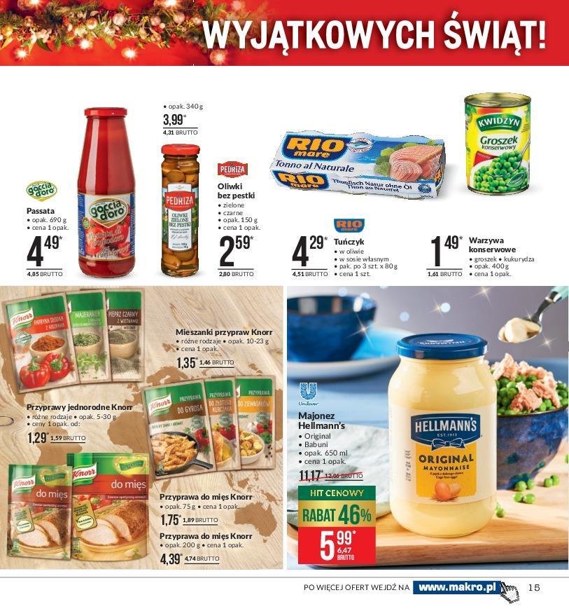 Gazetka promocyjna MAKRO do 03/12/2018 str.14