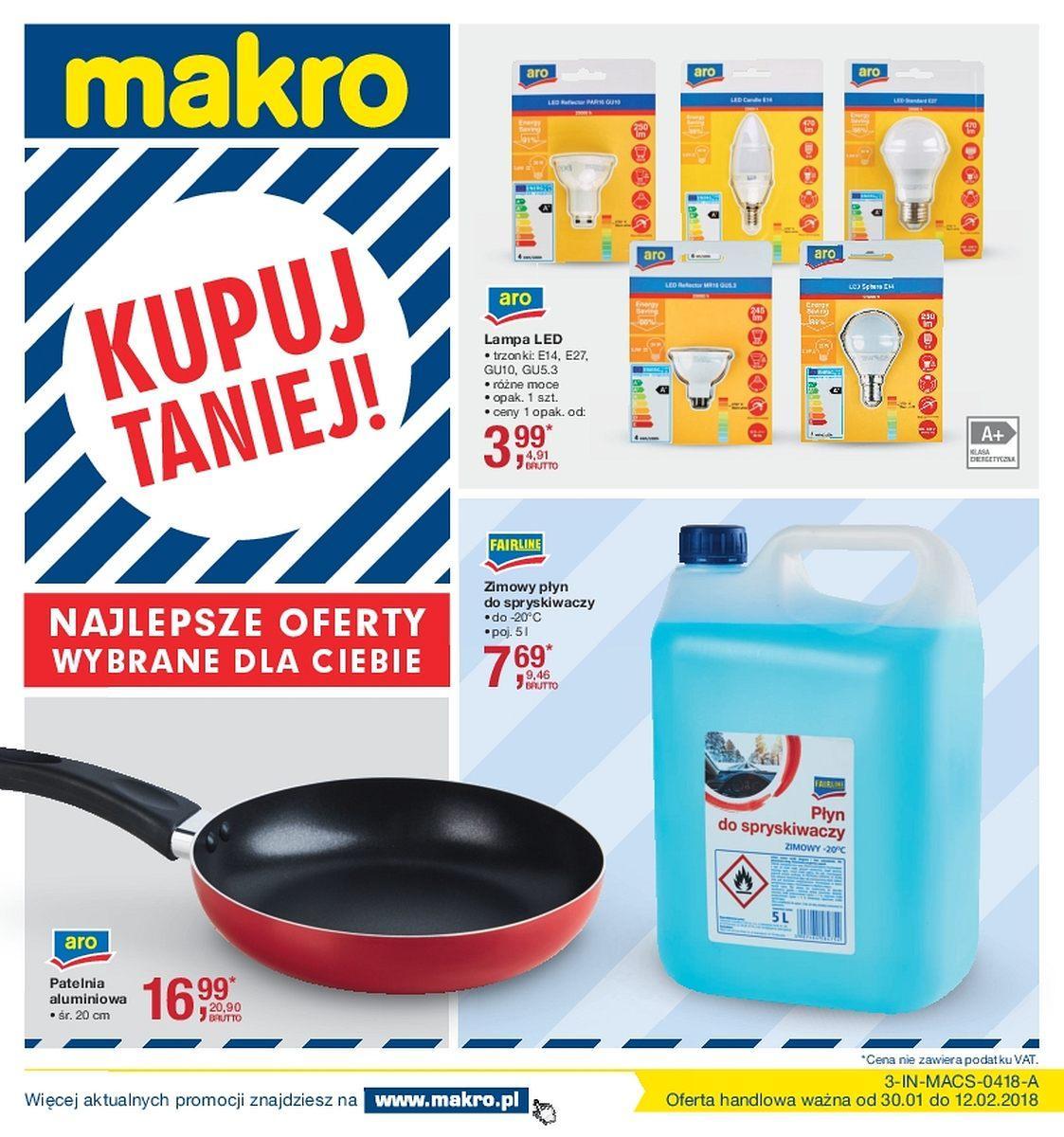 Gazetka promocyjna MAKRO do 12/02/2018 str.0