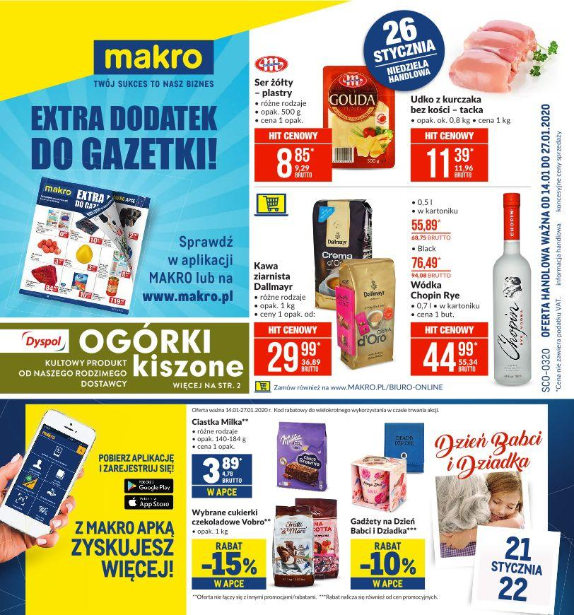 Gazetka promocyjna MAKRO do 27/01/2020 str.1