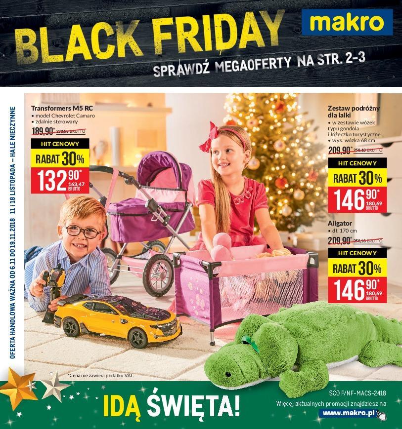 Gazetka promocyjna MAKRO do 19/11/2018 str.1
