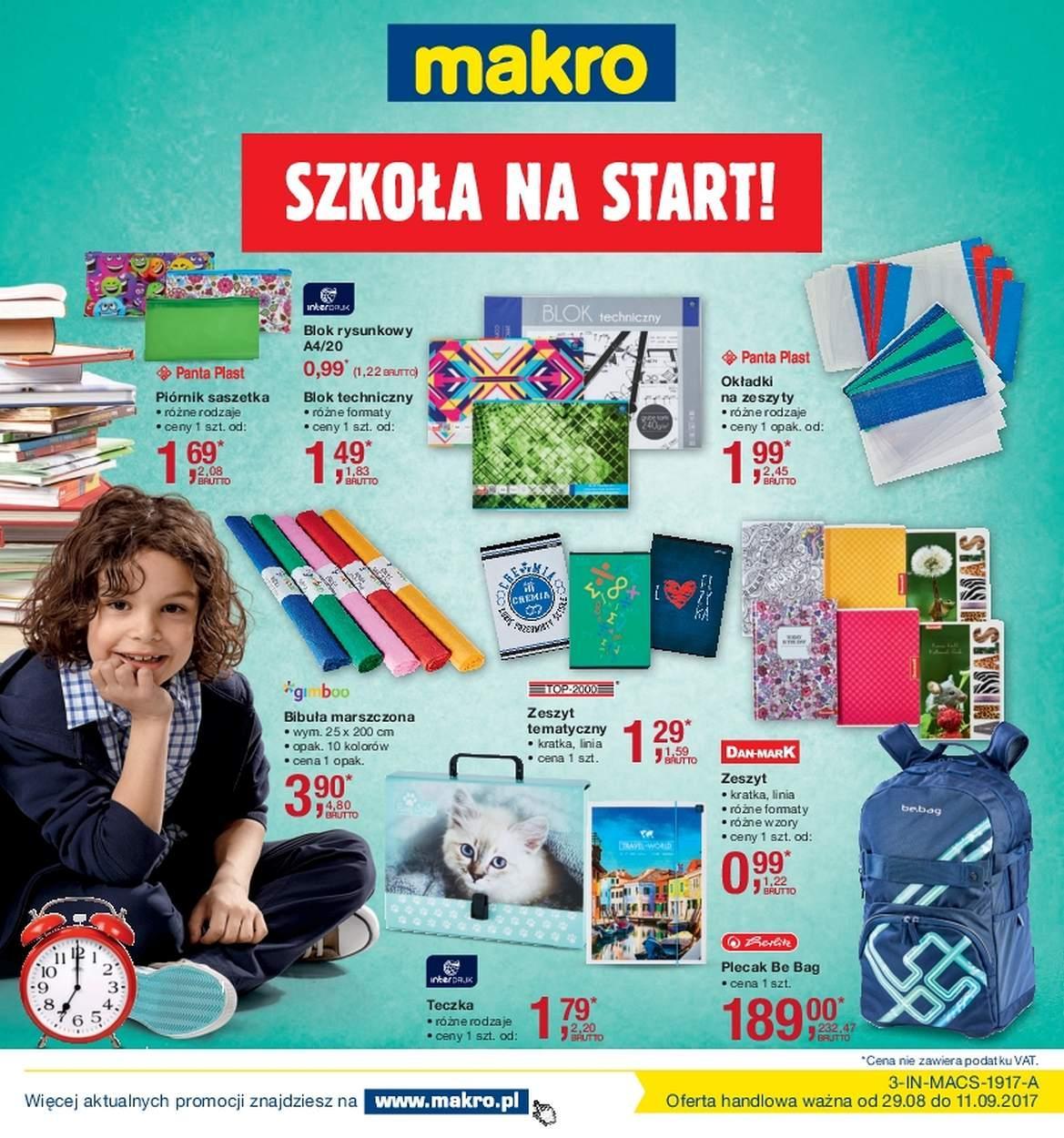 Gazetka promocyjna MAKRO do 11/09/2017 str.0