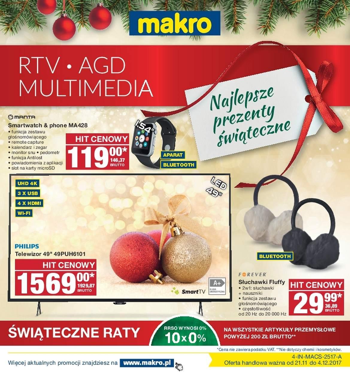 Gazetka promocyjna MAKRO do 04/12/2017 str.0