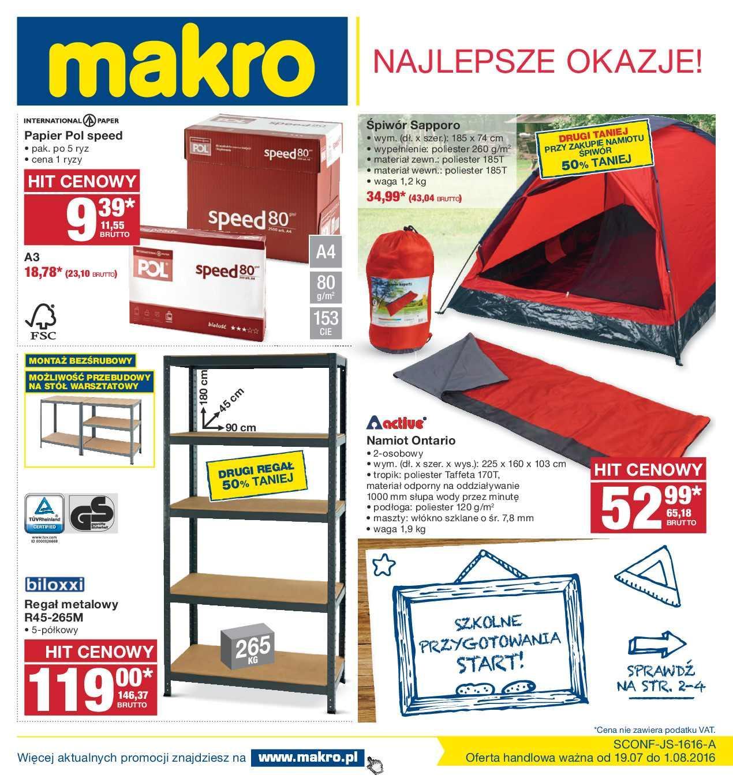 Gazetka promocyjna MAKRO do 01/08/2016 str.0