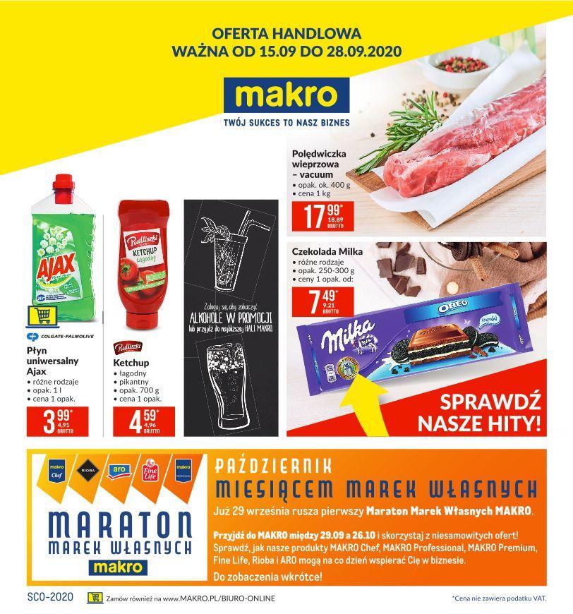 Gazetka promocyjna MAKRO do 28/09/2020 str.1