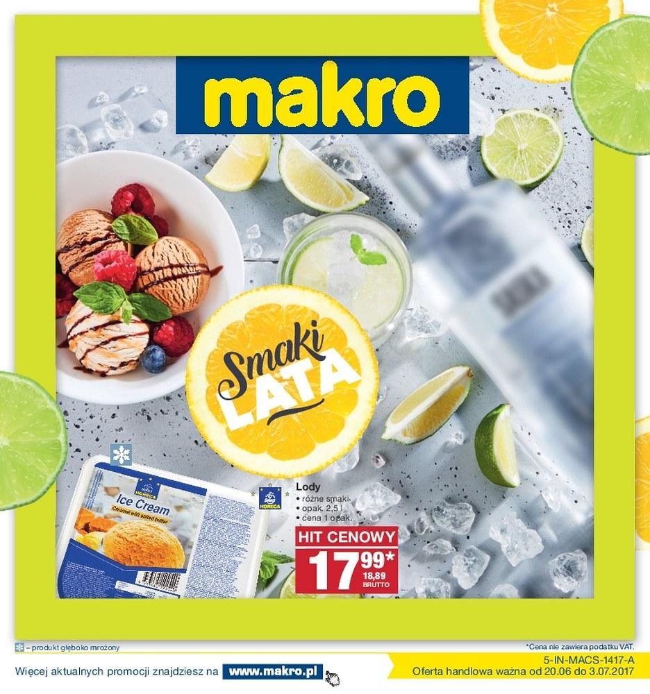 Gazetka promocyjna MAKRO do 03/07/2017 str.0