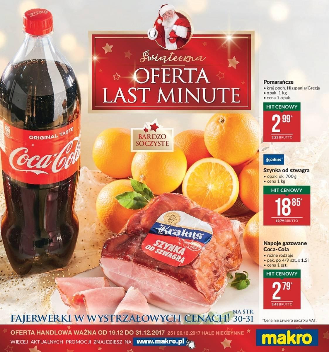 Gazetka promocyjna MAKRO do 31/12/2017 str.0