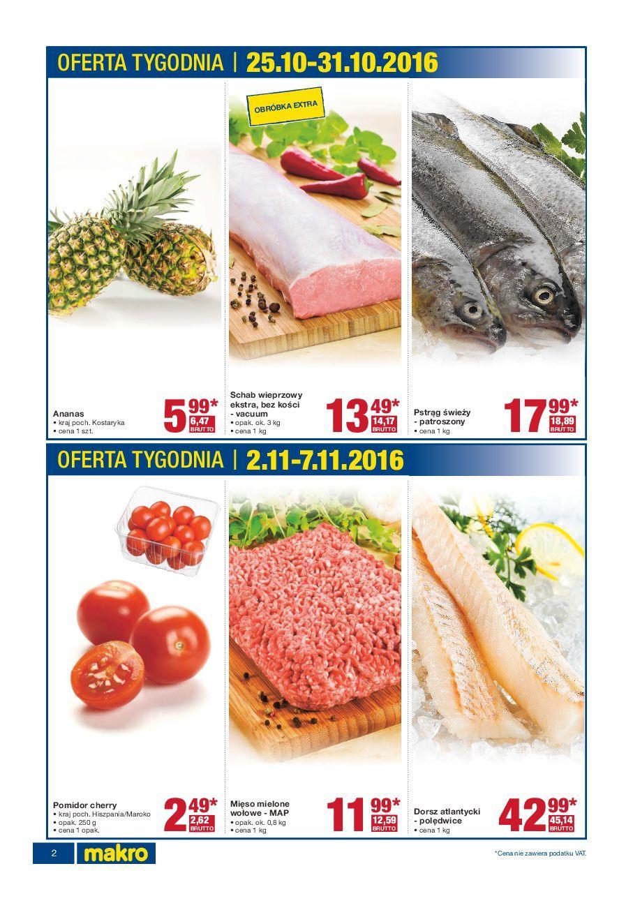 Gazetka promocyjna MAKRO do 07/11/2016 str.1