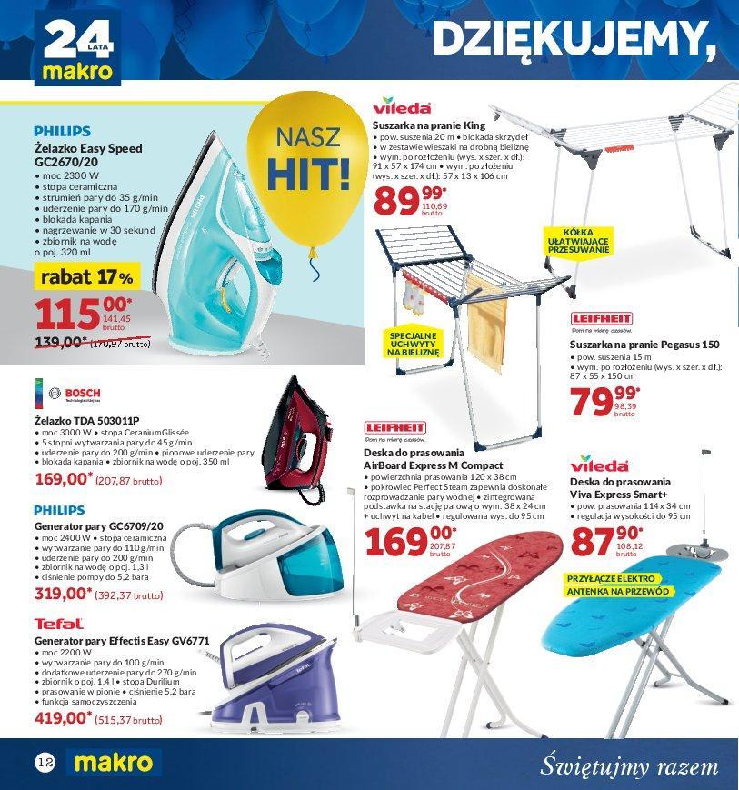 Gazetka promocyjna MAKRO do 22/10/2018 str.11
