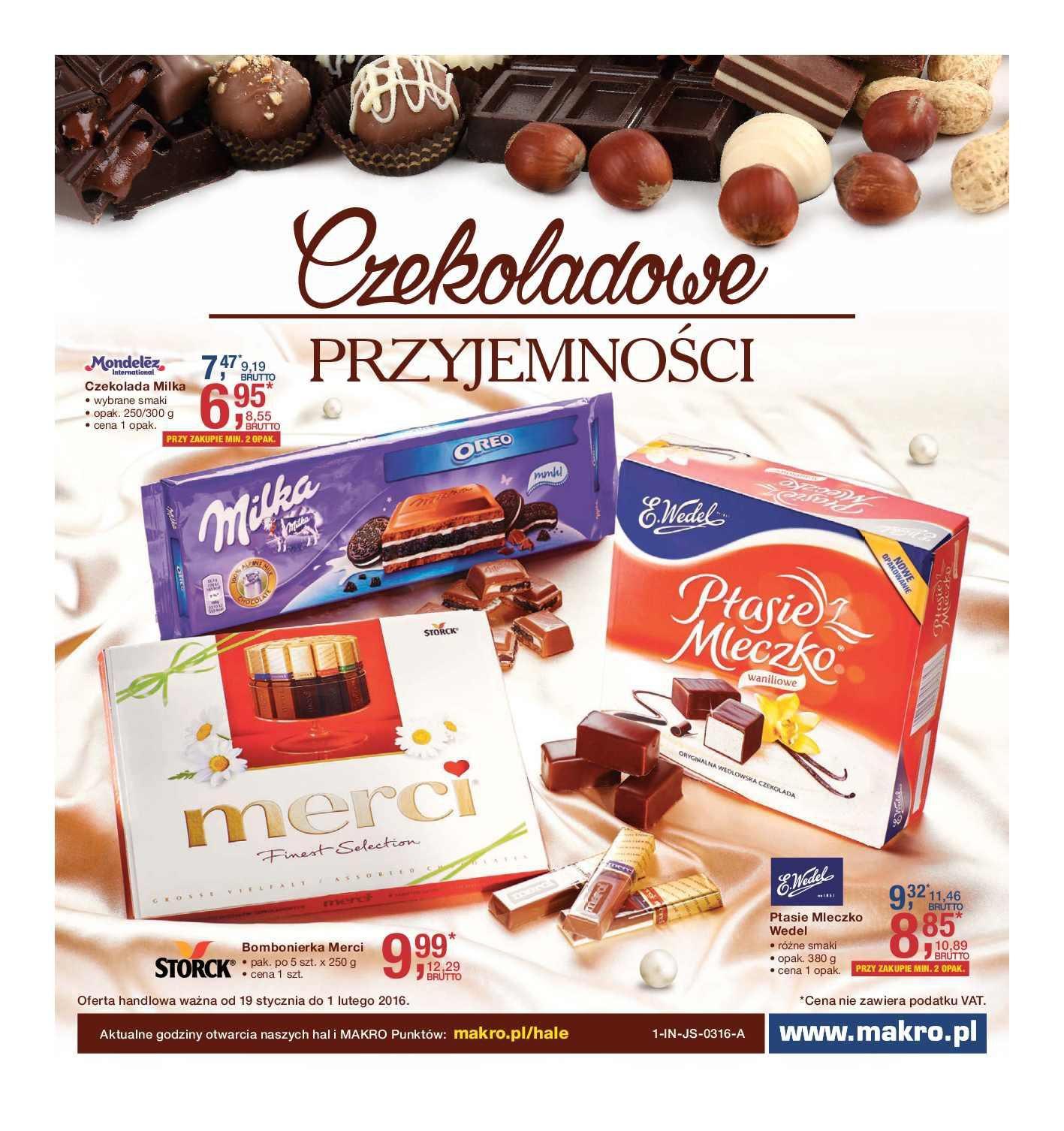 Gazetka promocyjna MAKRO do 01/02/2016 str.0