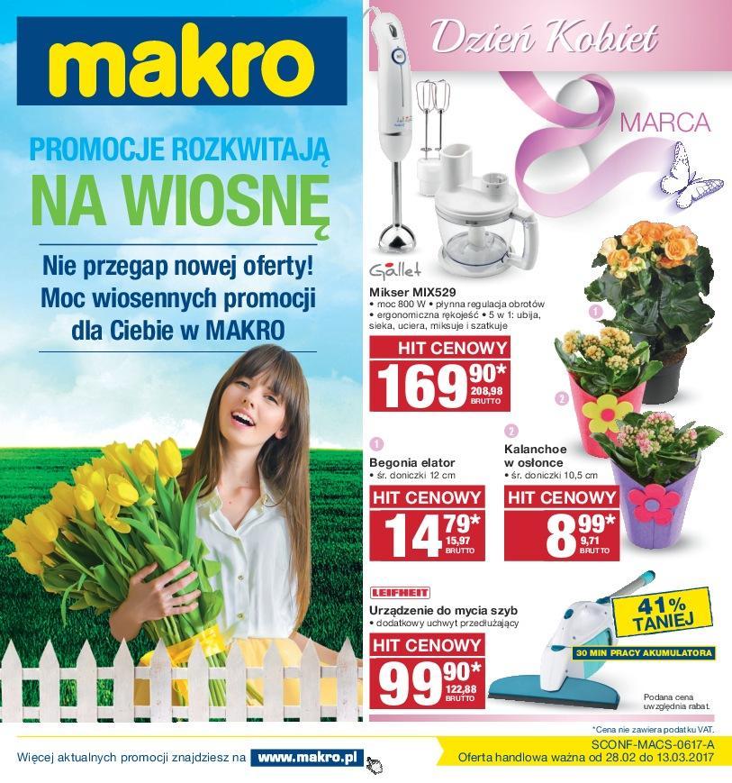 Gazetka promocyjna MAKRO do 13/03/2017 str.0