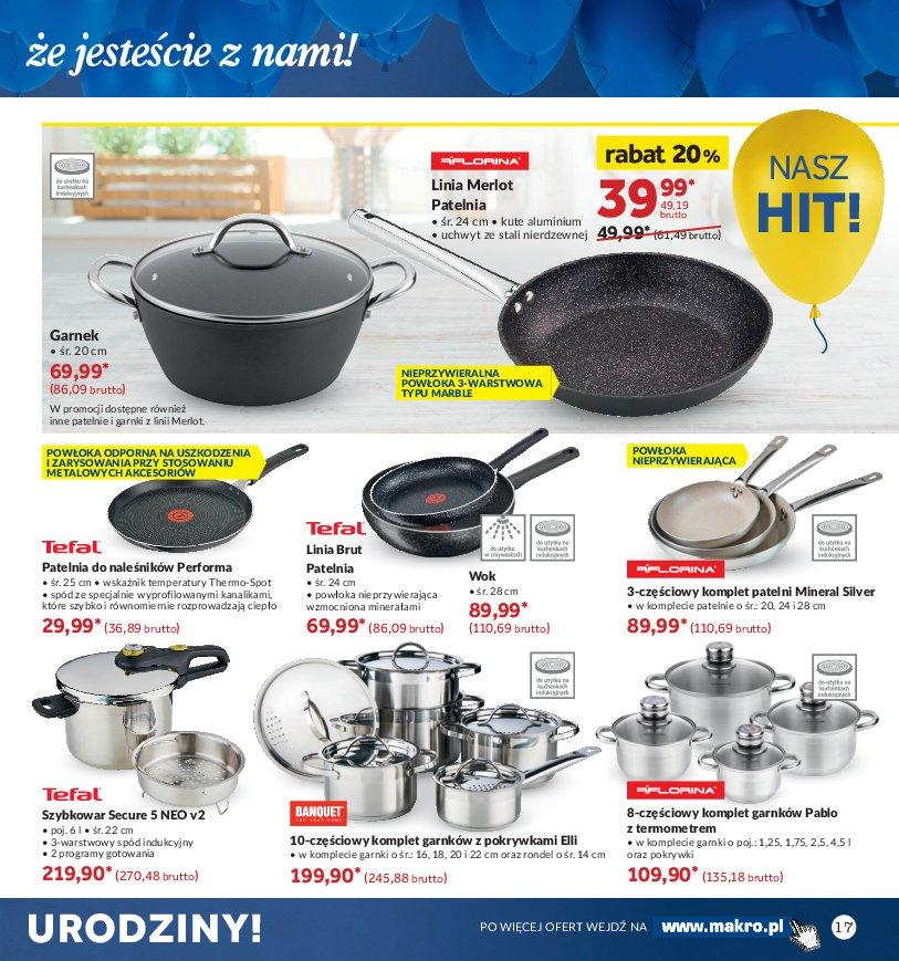 Gazetka promocyjna MAKRO do 22/10/2018 str.17